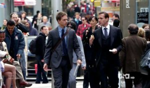 Two men: vastly different in their roles, but both equally comfortable in them. Swagger at its finest.