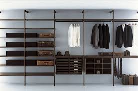 A minimalist closet. Generally not indicative of someone who places value in their clothing