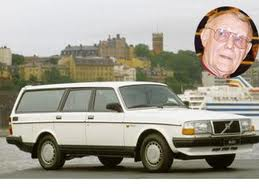 Ingvar Kamprad, the founder of Ikea. Worth 47 billion, he drives a 1988 Volvo 740 station wagon.