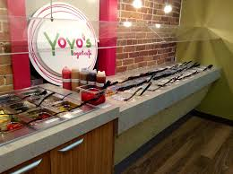 Self-Serve Frozen Yogurt puts the customer in control and builds trust.