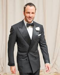 You don't have to wear a tux, but no one cuts a suit like Tom Ford (above) does. You want to have one that fits like this.