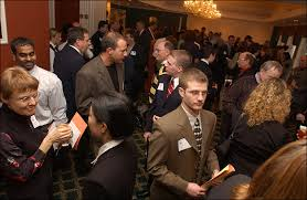 A networking event.
