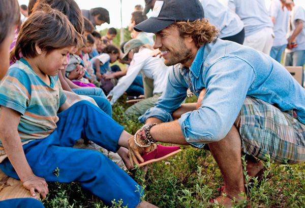 Blake Mycoskie, TOMS shoes founder