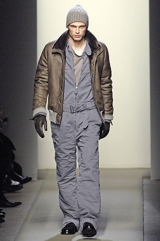 Bottega Veneta FW/08: The most expensive pair of coveralls you'll ever see.