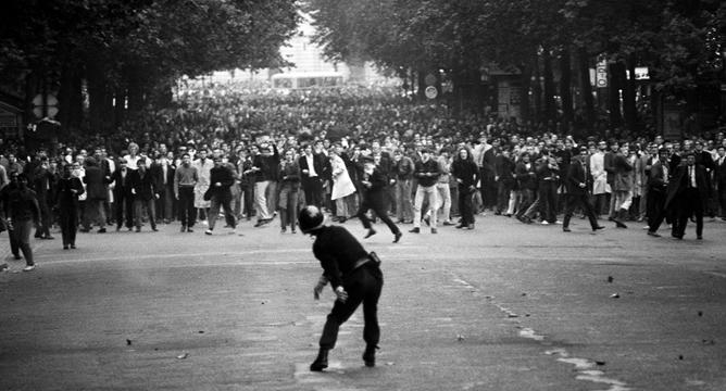 1968 Paris Uprising