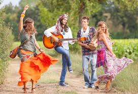 The hippies of the 60s/70s...