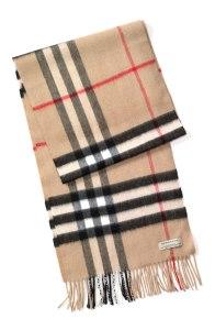 The Burberry Nova Check scarf.