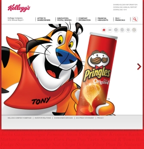 Kellogg acquired Pringles in 2012