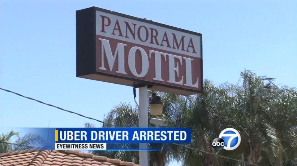 An Uber driver was arrested for allegedly kidnapping a drunk female passenger in Los Angeles.