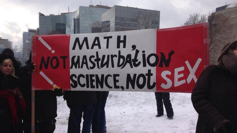 Reason against sex education